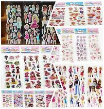 Hot Stickers Lot Girl'S Favors Stickers-3d Puffy Scrapbooking Party Favors Craft