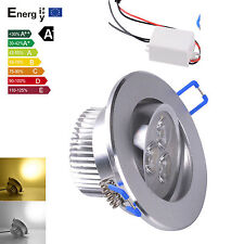 20X  9W LED Downlight Recessed Ceiling Light Lamp cool/warm white+Driver~~BA