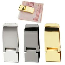 New Stylish Slim Stainless Steel Money Clip Cash Bill Clamp Credit Card Holder