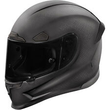 Icon Airframe Pro Black Ghost Carbon Full Face Motorcycle Helmet - DOT ECE App