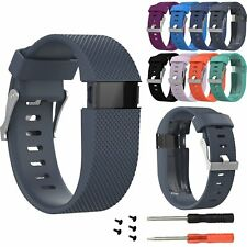 Replacement Strap Band Wristband Tool Kit For Fitbit Charge HR Activity Tracker
