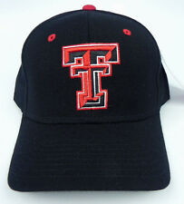 TEXAS TECH RED RAIDERS NCAA VINTAGE FITTED SIZED ZEPHYR DH CAP HAT NWT DEADSTOCK