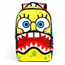 New Cartoon SpongeBob Squarepants Backpack Boys Bag Kids School Book Bag