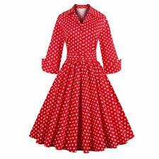 Sisjuly women vintage dress polka dot elegant party dress style 1950s rockabilly