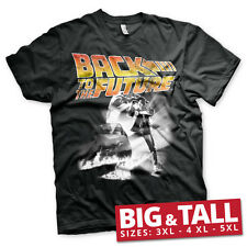 Officially Licensed Back To The Future Poster 3XL, 4XL, 5XL Men's T-Shirt