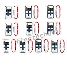 12V RF Wireless Remote Switch Controller Dimmer for Mini LED Strip Light New BR