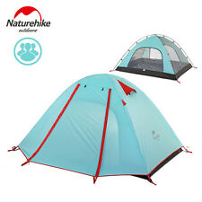 NatureHike Outdoor 2/3/4 Person Tent Aluminum Pole Double Layer Camping Tent