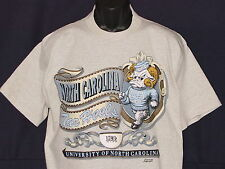 Vintage 90s UNC Carolina TARHEELS T-Shirt CAPITOL Graphics NCAA NWT NEWOld Stock