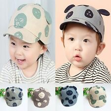 Toddlers Infant Boys Girls Unisex Hat Baseball Cotton Ear Cute Warm Cap Peaked