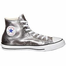 Converse Chuck Taylor All Star Hi Gunmetal White Mens Sneaker Trainer