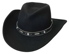 NEW SILVERADO - ODESSA Crushable Wool Western Cowboy Hat Black MADE in the USA