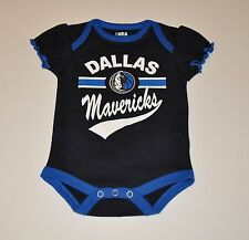 NWOT Dallas Mavericks Girls Infant Baby Bodysuit/Creeper Romper Baby Shirt