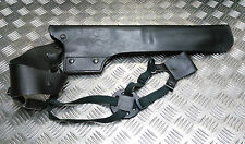 Genuine British Military / Police Black Leather Shotgun Scabbard / Harness / Rig
