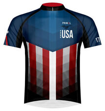 Primal Wear American Patriot USA Cycling Jersey Mens bicycle bike with socks