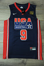 Michael Jordan #9 Team USA Jersey New Dream Team Olympic Classic Navy 1992