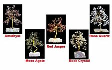 Gemstone Tree Healing Crystal Gem Stone Tree New Age Feng Shui 160 Stones