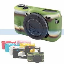 New Durable Soft Silicon Rubber Camera Body Bag Case Cover Skin For Canon G7XII