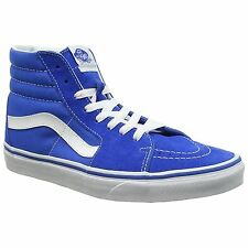 Vans SK8-Hi Imperial Blue Mens Suede and Canvas Unisex Casual Trainers Shoes