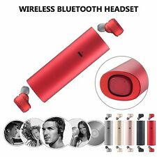 Mini TWS True Wireless Bluetooth Stereo Headset In-Ear Earphones Earbuds Headset