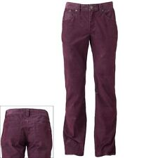 NWT Men Rock & Republic Neil Straight Corduroy Pants Red Sz.30,32,34 $88 New