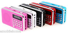L-938 Portable FM Radio MP3 Player Support TF Card Playing AUX Input BLACK WHITE