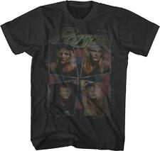 80's LOOK WHAT THE CAT DRAGGED IN COVER Poison Glam Hair Metal Rock Band T-Shirt