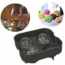 Whiskey Ice Cube Ball Tray Brick Round Maker Mold Sphere Mould Bar Silicone BA
