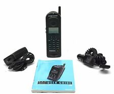 Qualcomm GSP 1600 Satellite Phone with Car Chgr, English Mnl.