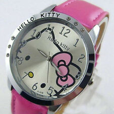 Lovely hellokitty  Girls Ladies Wrist Quartz Watch Nice Kid's hellokitty Women