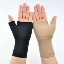 Therapy Compression Gloves Hand Arthritis Joint Pain Relief Black Skin Color
