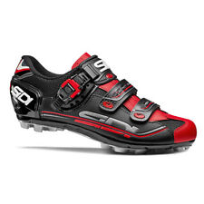 SIDI Eagle 7 MTB Cycling Shoes - Color Black/Black/Red, Size 36 ~ 46 EUR