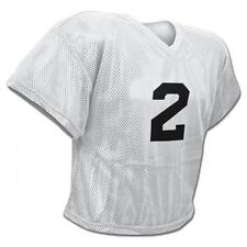 Champro FJ2 Mesh Waist Length Football Adult Youth Practice Jersey White