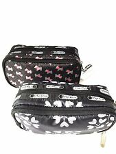NWT LeSportsac Kevyn Double Zip Cosmetic Case makeup bag