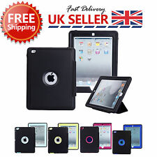 Luxury Leather Smart Case Stand Magnetic Cover For IPAD 2 3 4 MINI 1 2 3 AIR 2