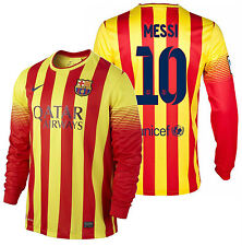 NIKE LIONEL MESSI FC BARCELONA LONG SLEEVE AWAY JERSEY 2013/14.