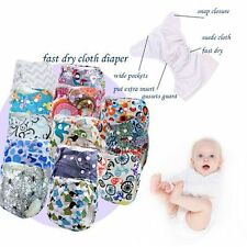 Kids Infant Adjustable Washable Baby Nappy Cloth Diapers Cover