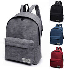 Canvas Backpack Shoulders High School Bag Rucksack Canvas Travel bags Fashion
