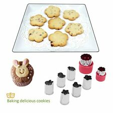8pcs Stainless Steel Biscuit Pastry Cookie Cutter Cake Decor Mold Mould Tool