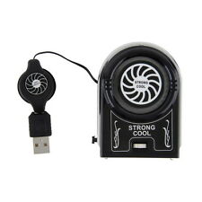 Protable  Vacuum USB Cooler Air Extracting Cooling Fan for Notebook Laptop LTE