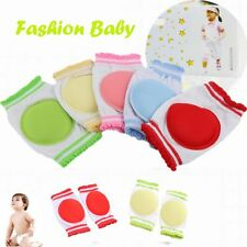 1 Pair Learn To Walk Baby Crawling Sponge Cotton Breathable Kids Knee Pad
