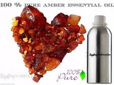 Essential Oil Amber  5 ml - 500 ml Natural 100% Pure Therapeutic Aromatherapy