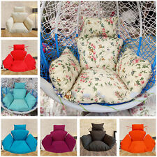 Indoor Hanging Chair Wicker Swing Seat Cover Mats Pad Protector Cushion Soft BOS