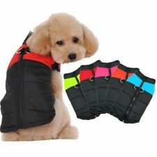 New Small Dogs Winter Puppy Chihuahua Pet Waterproof Large Dog Coat Jacket