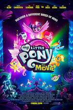 "My Little Pony The Movie Poster 48x32"" 36x24"" 21x14"" 2017 Film Movie Print Silk"