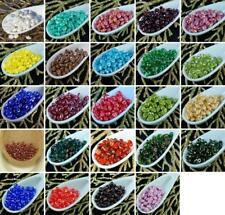 20g Luster SUPERDUO Czech Glass Seed Beads Two Hole Super Duo 2.5mm x 5mm