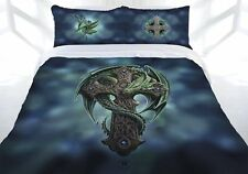 Anne Stokes Woodland Guardian Cross Quilt Doona Cover Set - DOUBLE QUEEN KING