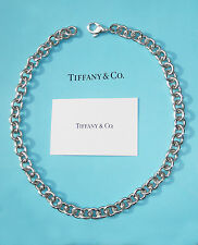 Tiffany & Co Round Large Link Sterling Silver Chain Necklace
