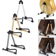 Guitar Stand Universal Folding A-Frame Holder Acoustic Electric Guitars Floor