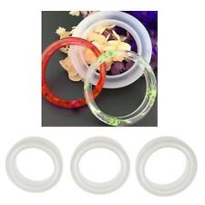 Silicone Mold Casting Mould for Resin Bangle Bracelet Jewelry Making DIY Tools