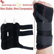 Newest Palm Wrist Support Hand Support Brace Carpal Pain Thumb Protector BLACK U